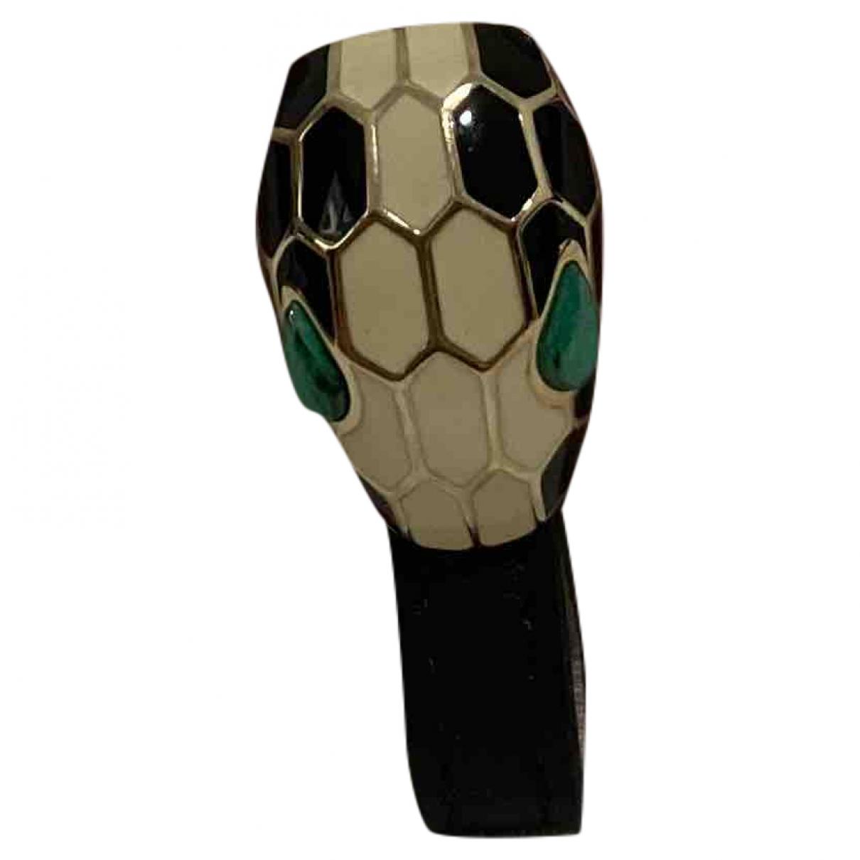 Bvlgari \N Beige Leather bracelet for Women \N