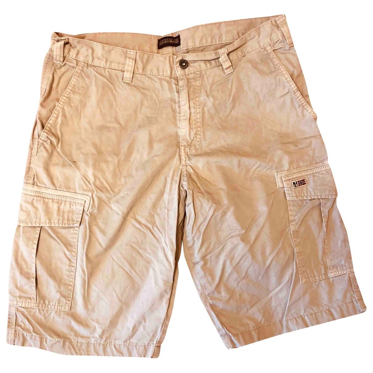Napapijri \N Shorts in  Beige Baumwolle