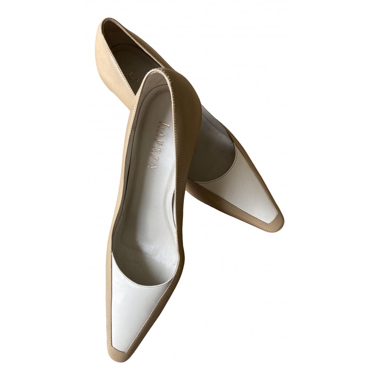 Ralph Lauren \N Camel Leather Heels for Women 8.5 US