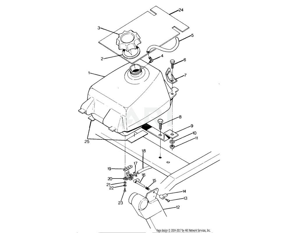 Polaris OEM 5222154 Bracket, Fuel Mounting, Cover, LH