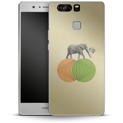 Huawei P9 Silikon Handyhuelle - Balloney Fant von Mark Ashkenazi