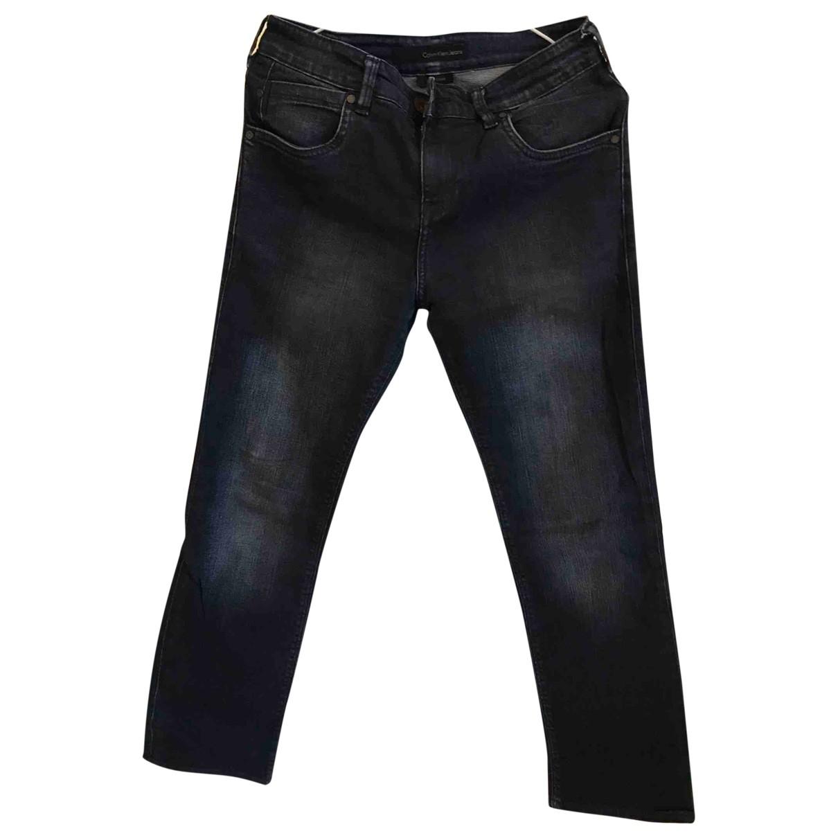 Calvin Klein \N Navy Denim - Jeans Trousers for Men 30 UK - US