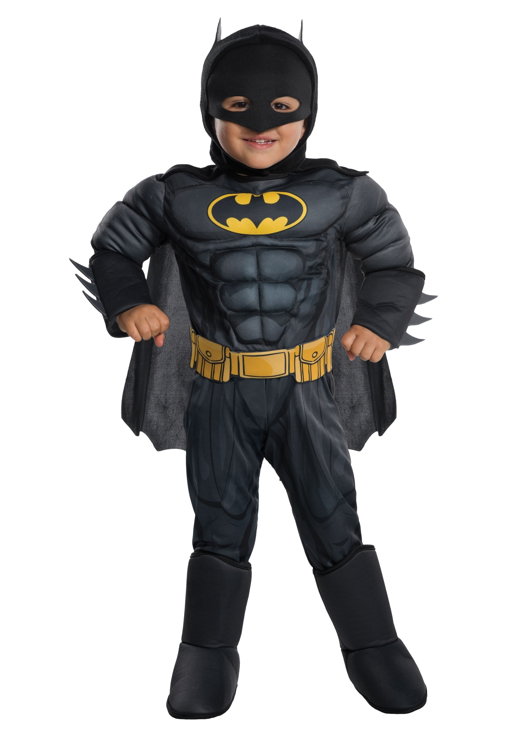 Deluxe Batman Costume for Toddler | Toddler Superhero Costume