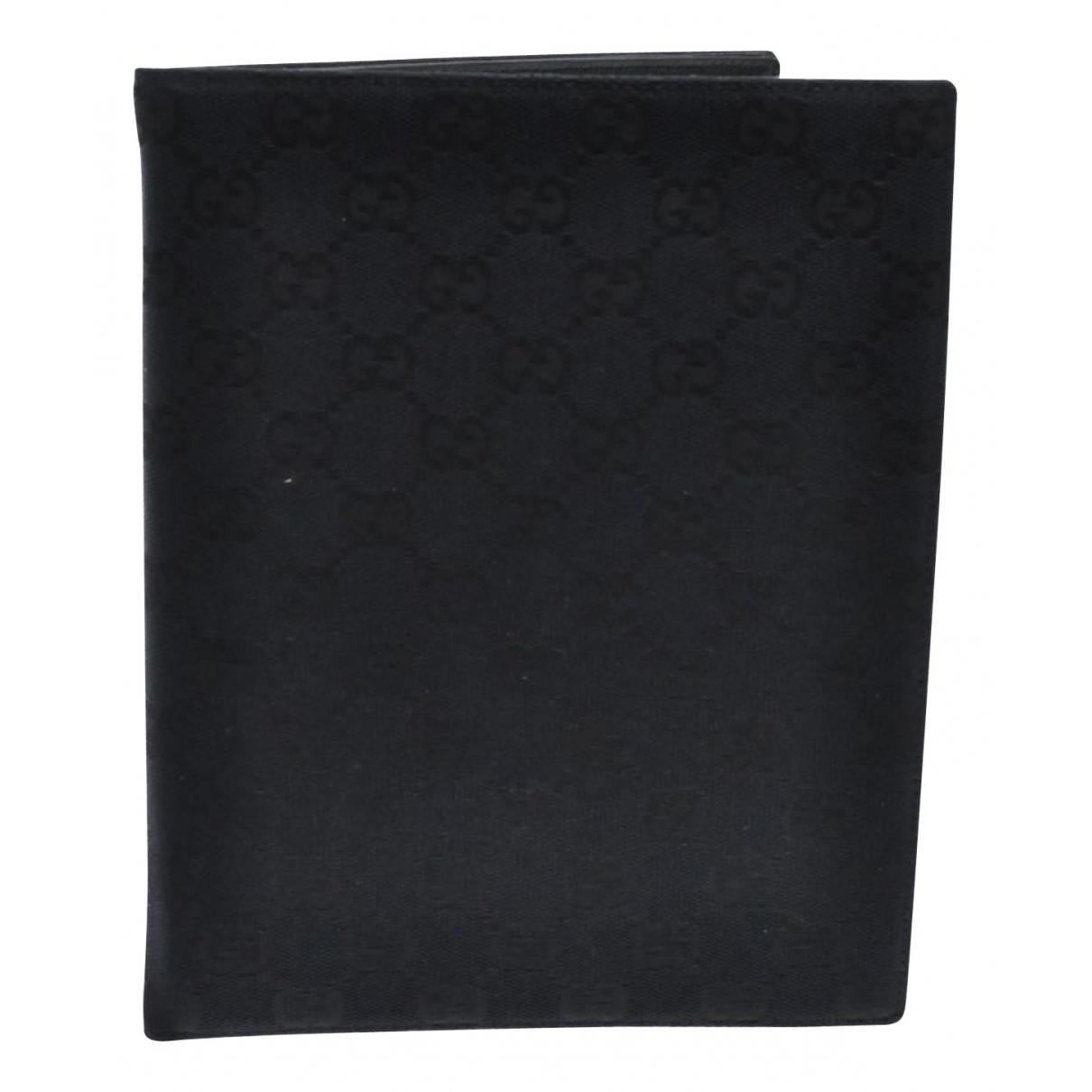 Gucci - Petite maroquinerie   pour femme en toile - noir