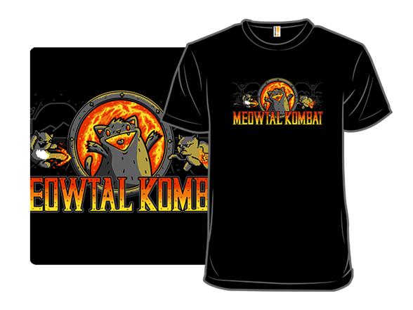 Meowtal Kombat T Shirt