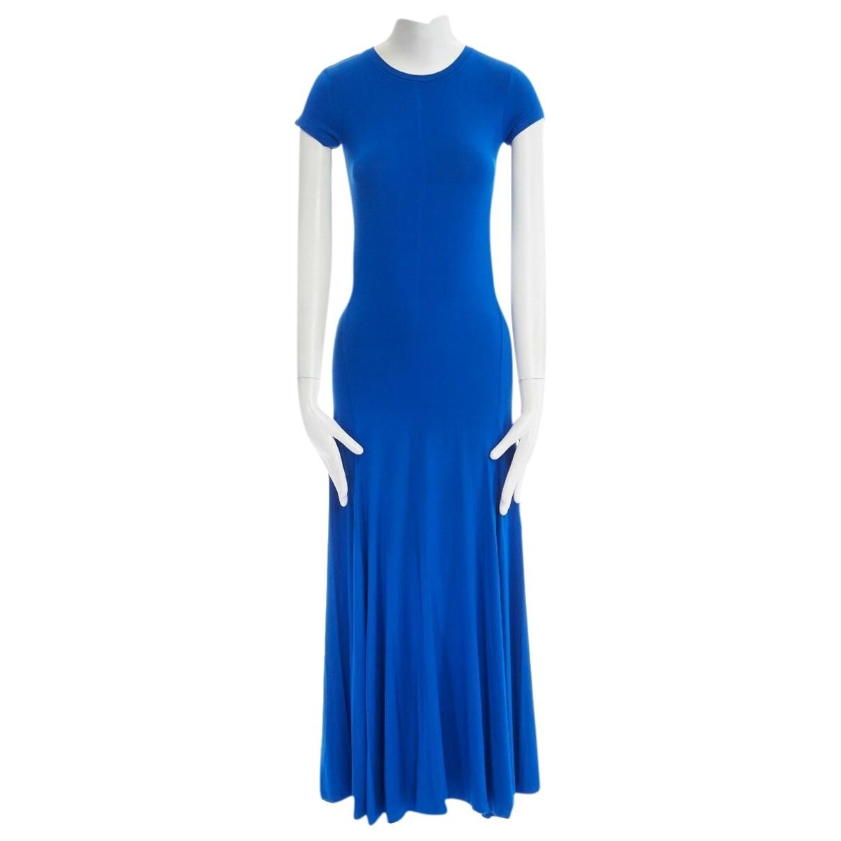 Ralph Lauren \N Kleid in  Blau Baumwolle