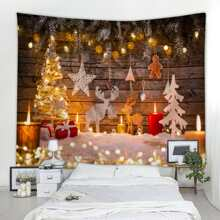 Christmas Pattern Tapestry