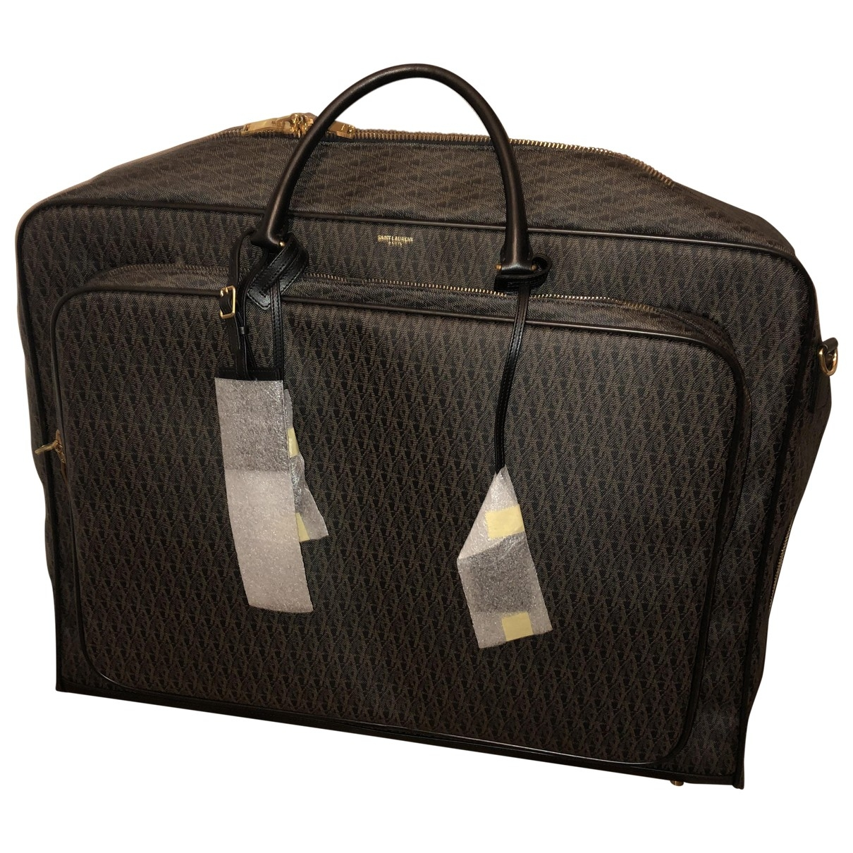 Saint Laurent \N Brown Cloth bag for Men \N