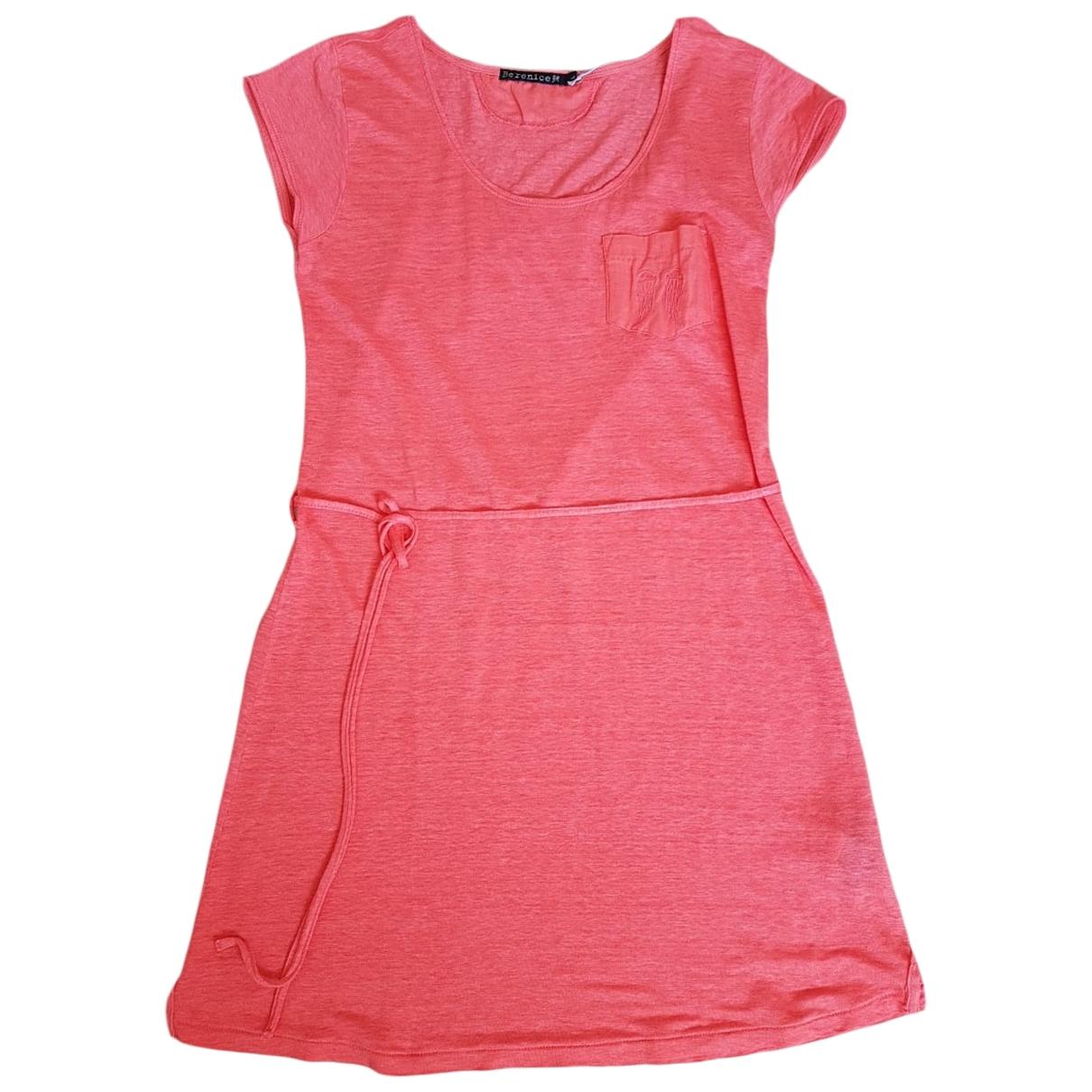 Berenice \N Orange Linen dress for Women L International
