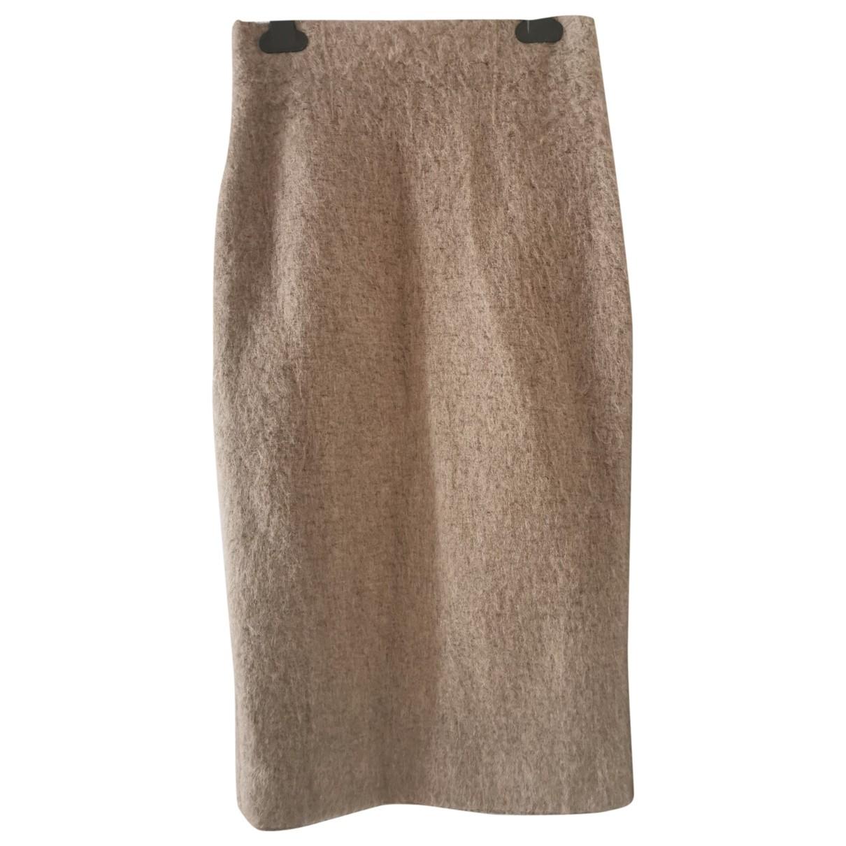 Zara \N Rocke in  Beige Polyester