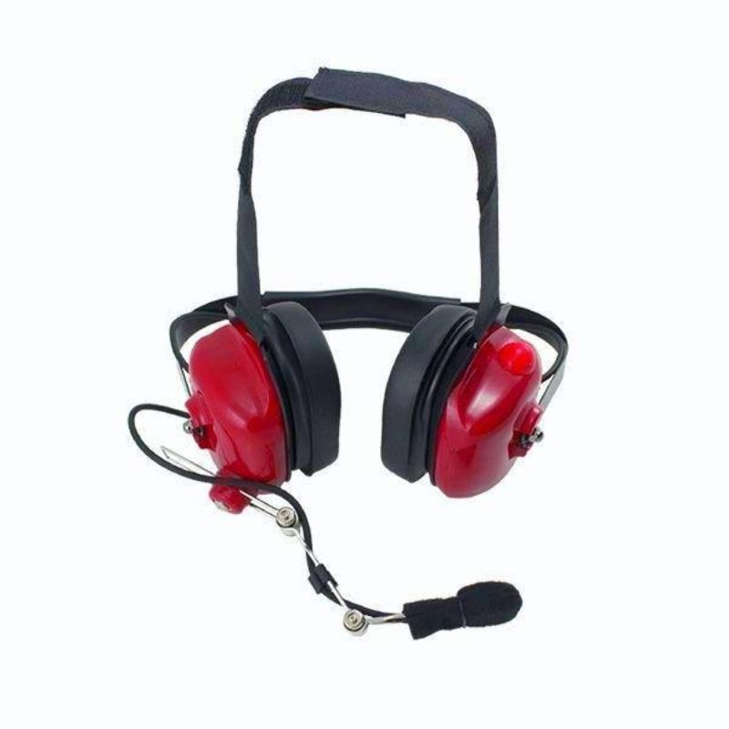 PCI Race Radios PRR5011 PCI Bluetooth Crew Chief Headset Red