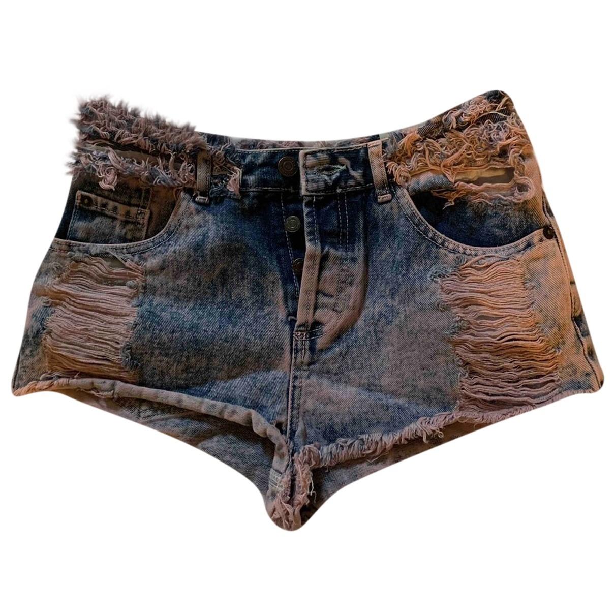 tophop \N Pink Denim - Jeans Shorts for Women 6 US
