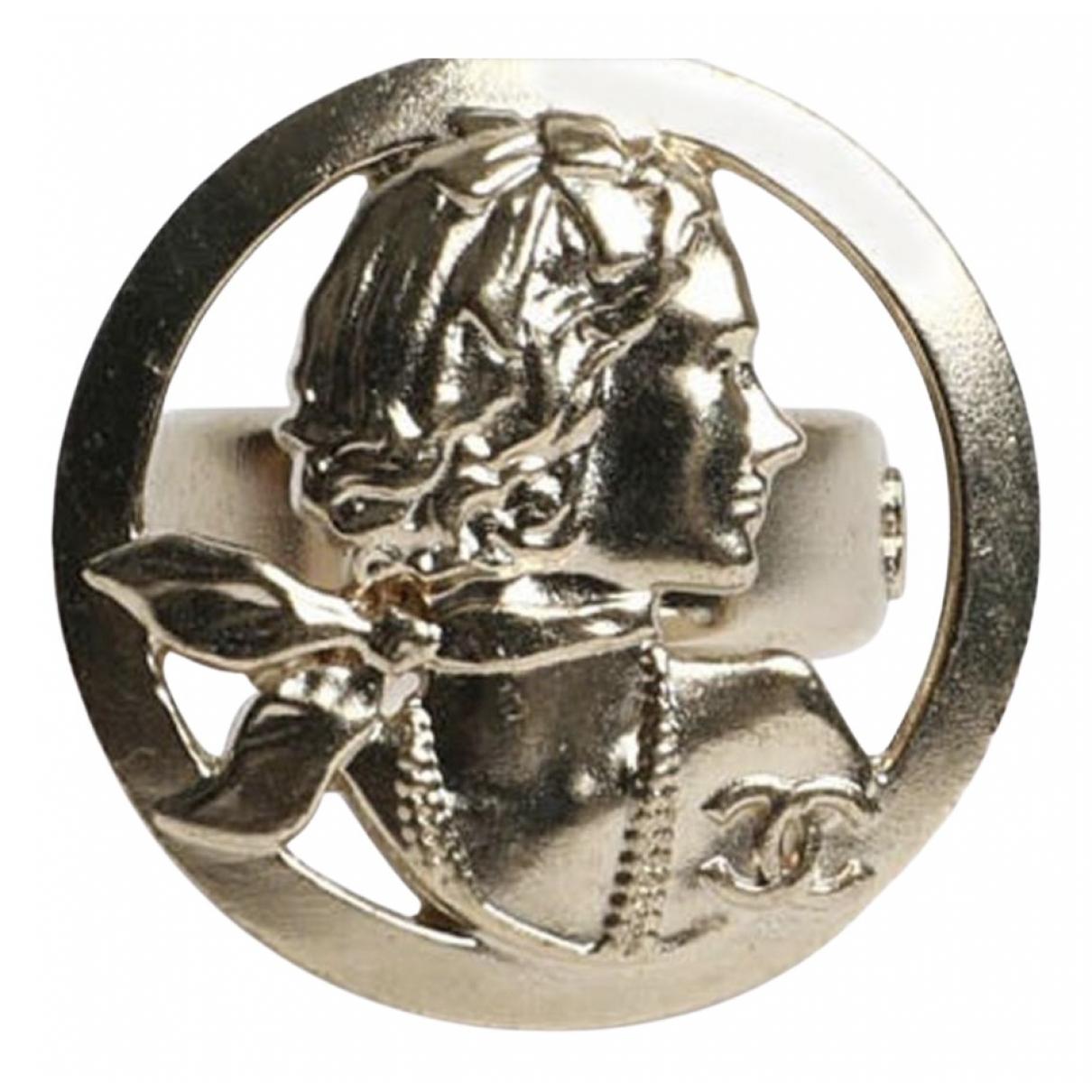 Chanel - Bague CC pour femme en metal