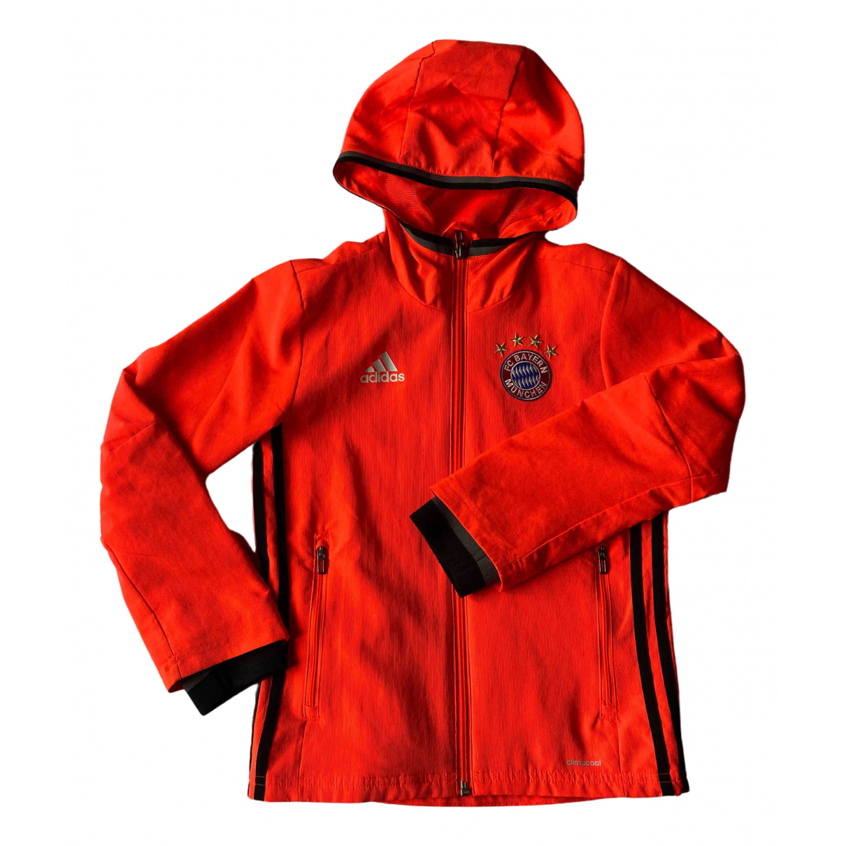 Adidas \N Jacke, Maentel in  Orange Polyester