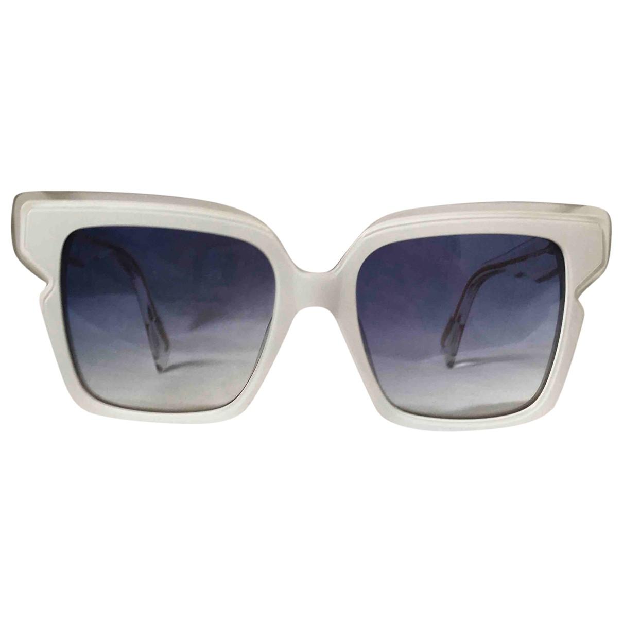 Just Cavalli \N Sonnenbrillen in  Weiss Kunststoff