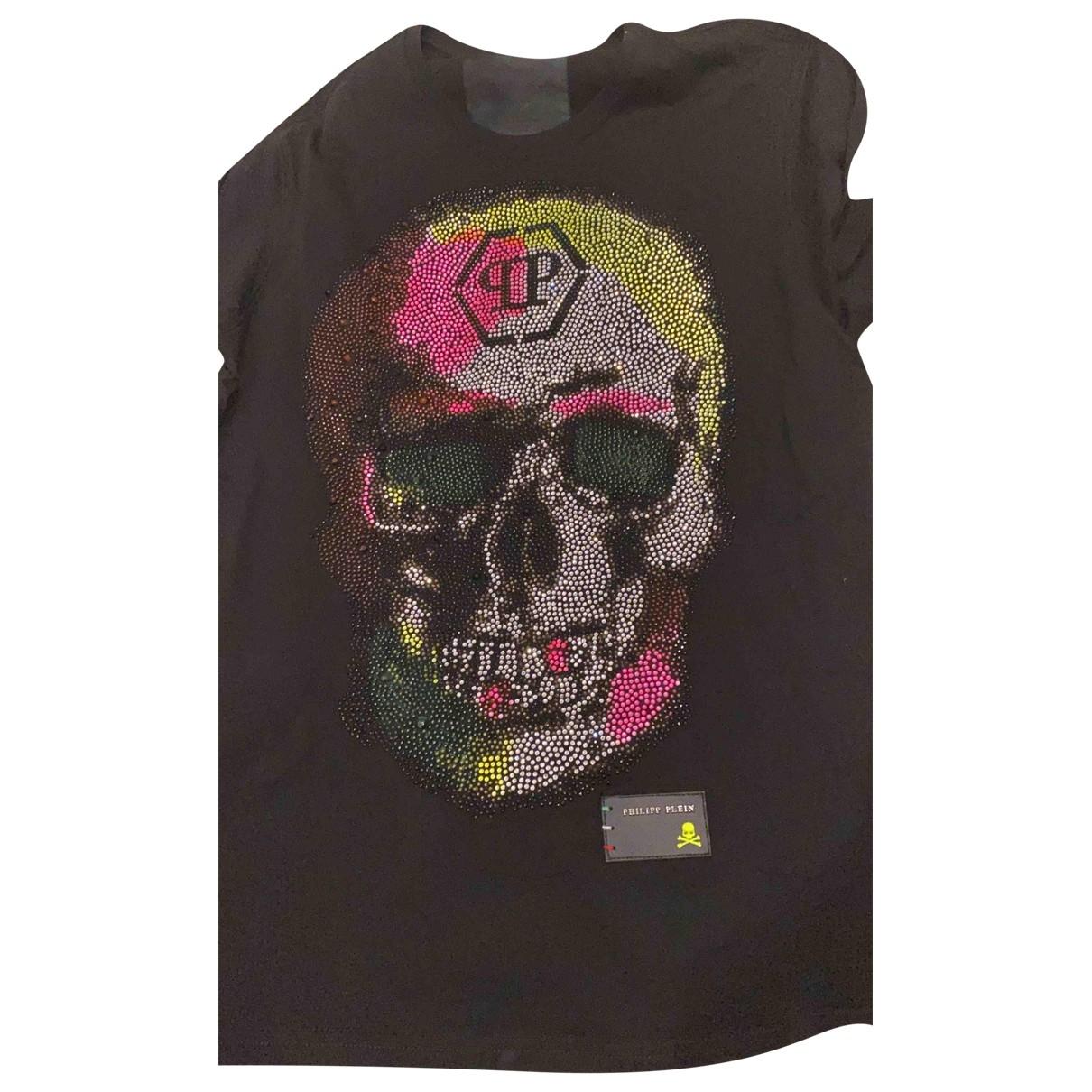 Philipp Plein \N Black Cotton T-shirts for Men M International