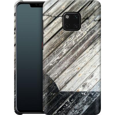 Huawei Mate 20 Pro Smartphone Huelle - Diagonal Wood von Brent Williams