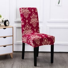Vintage Flower Print Stretchy Chair Cover
