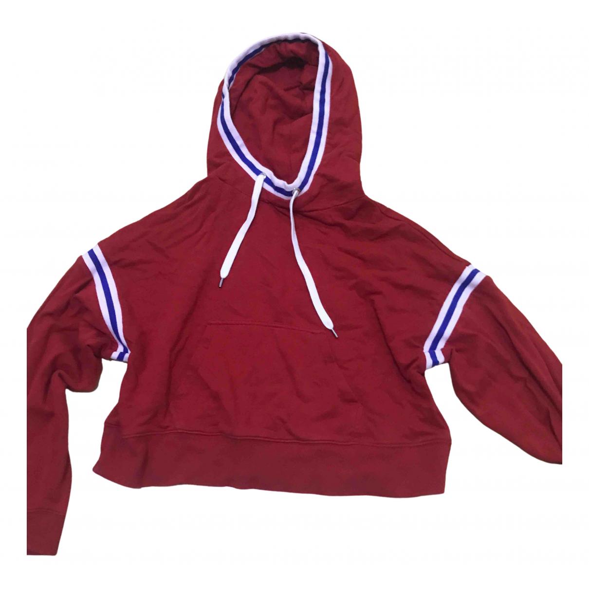 Tommy Jean - Pull   pour femme en coton - rouge