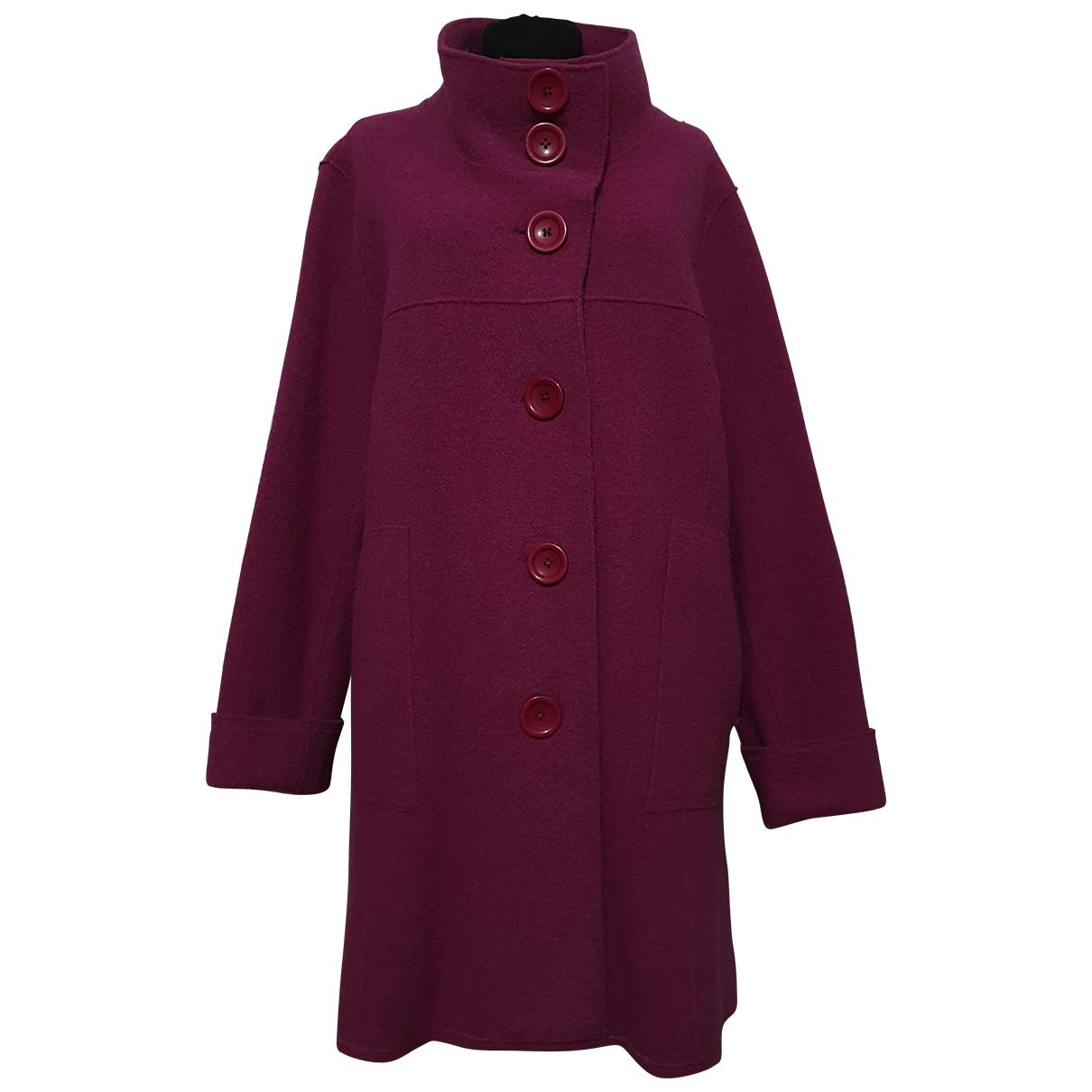 Autre Marque - Manteau   pour femme en laine - violet