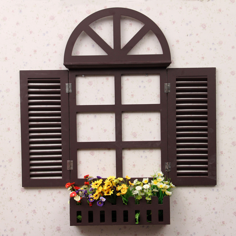 Fabulous Mediterranean Style Window Design 3D Wall Decorations