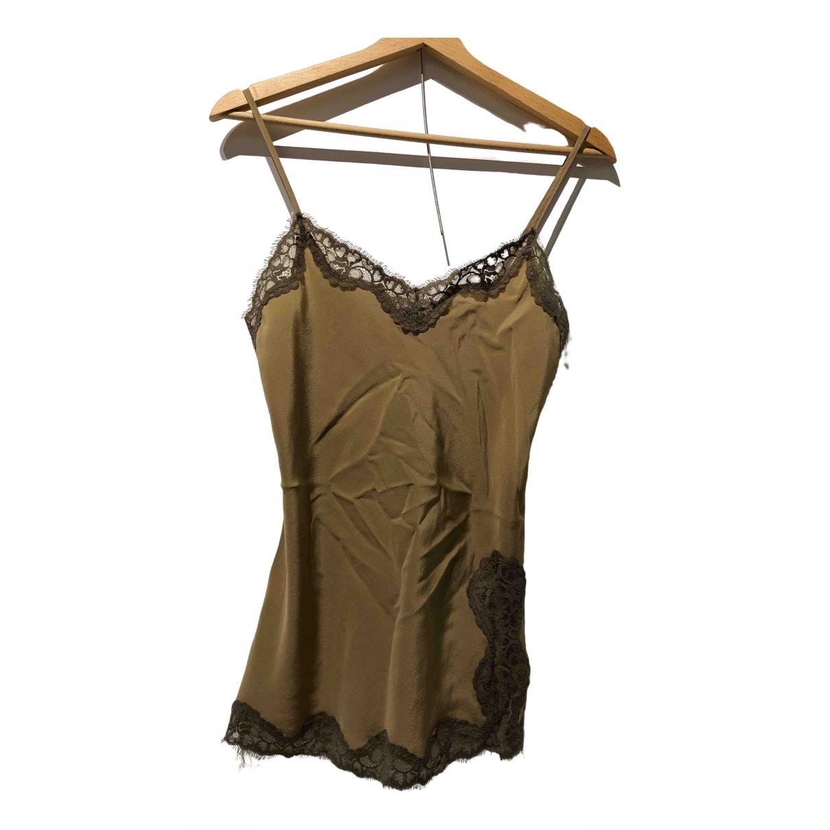 Falconeri \N Beige Silk  top for Women S International
