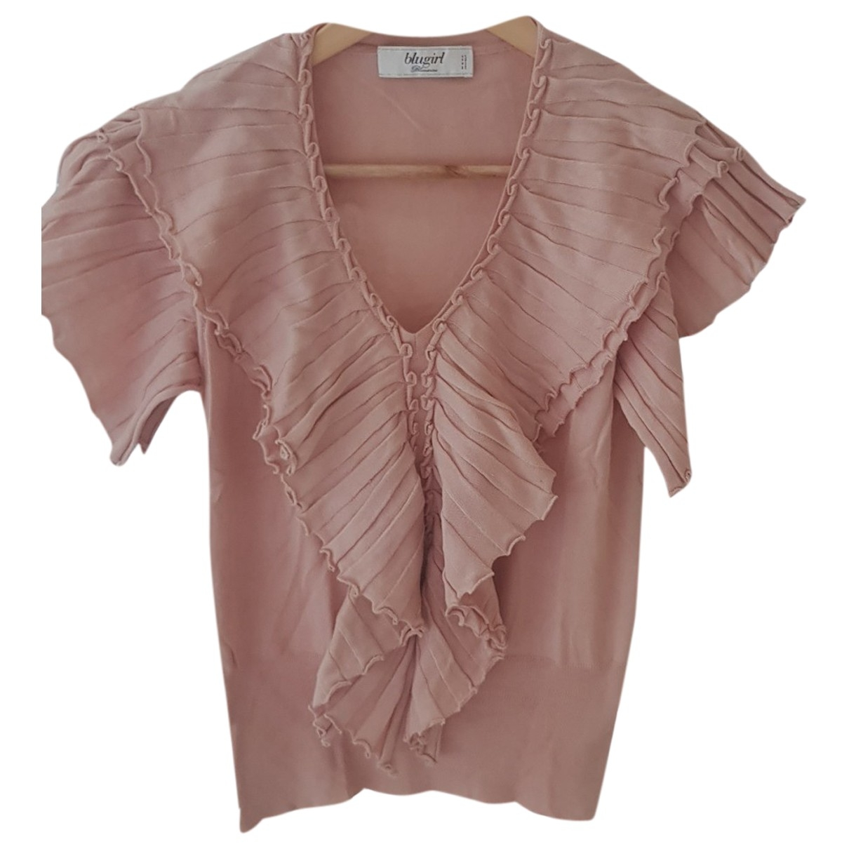 Blumarine \N Pink Cotton  top for Women M International