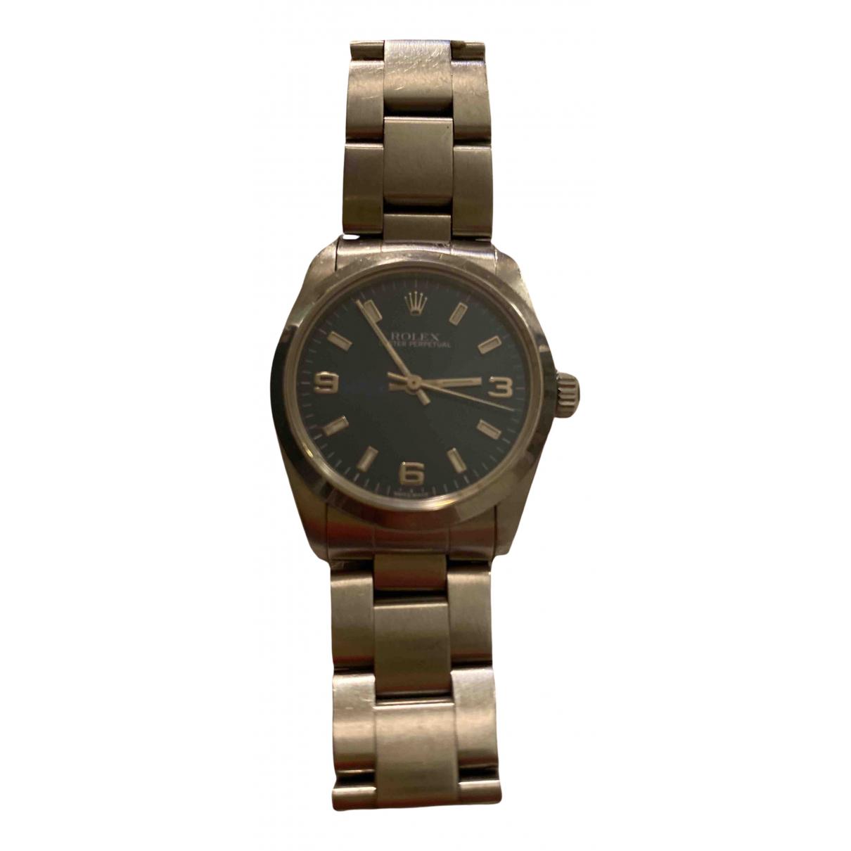 Rolex Datejust 31mm Uhr in  Blau Stahl
