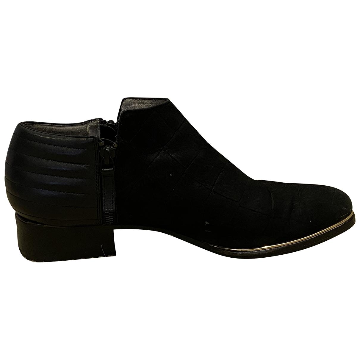 Senso - Boots   pour femme en suede - noir
