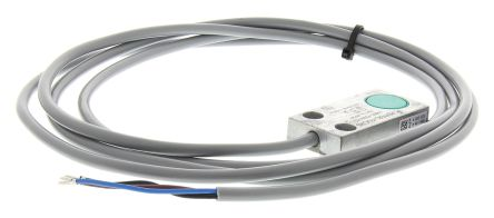 Pepperl + Fuchs Inductive Sensor - Block, PNP-NO Output, 5 mm Detection, IP67, Cable Terminal
