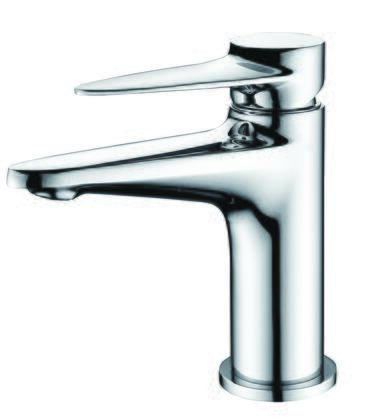 AB1770-PC Modern Bathroom Faucet  with Brass  Valve  Single Lever Control  Single Hole Deck Mount Installation  UPC Certified and 5-Year Warranty in