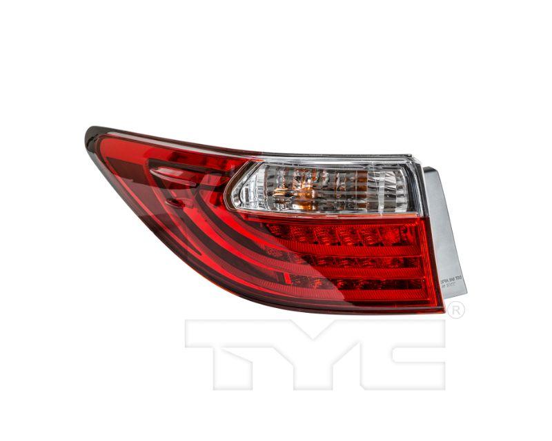 TYC Tail Light CAPA Certified Lexus ES300h/ES350 2013-2015