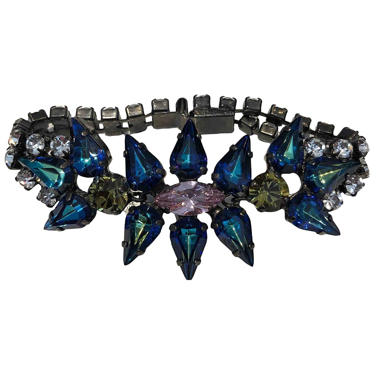 - Bracelet   pour femme en cristal - bleu