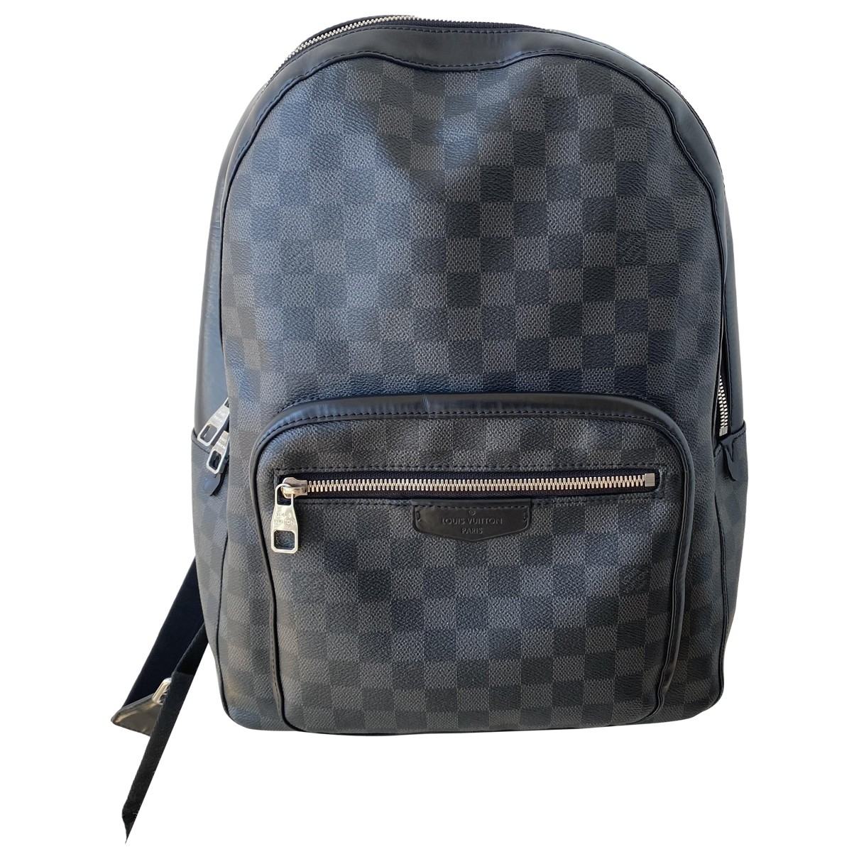 Louis Vuitton Josh Backpack Grey Cloth bag for Men \N