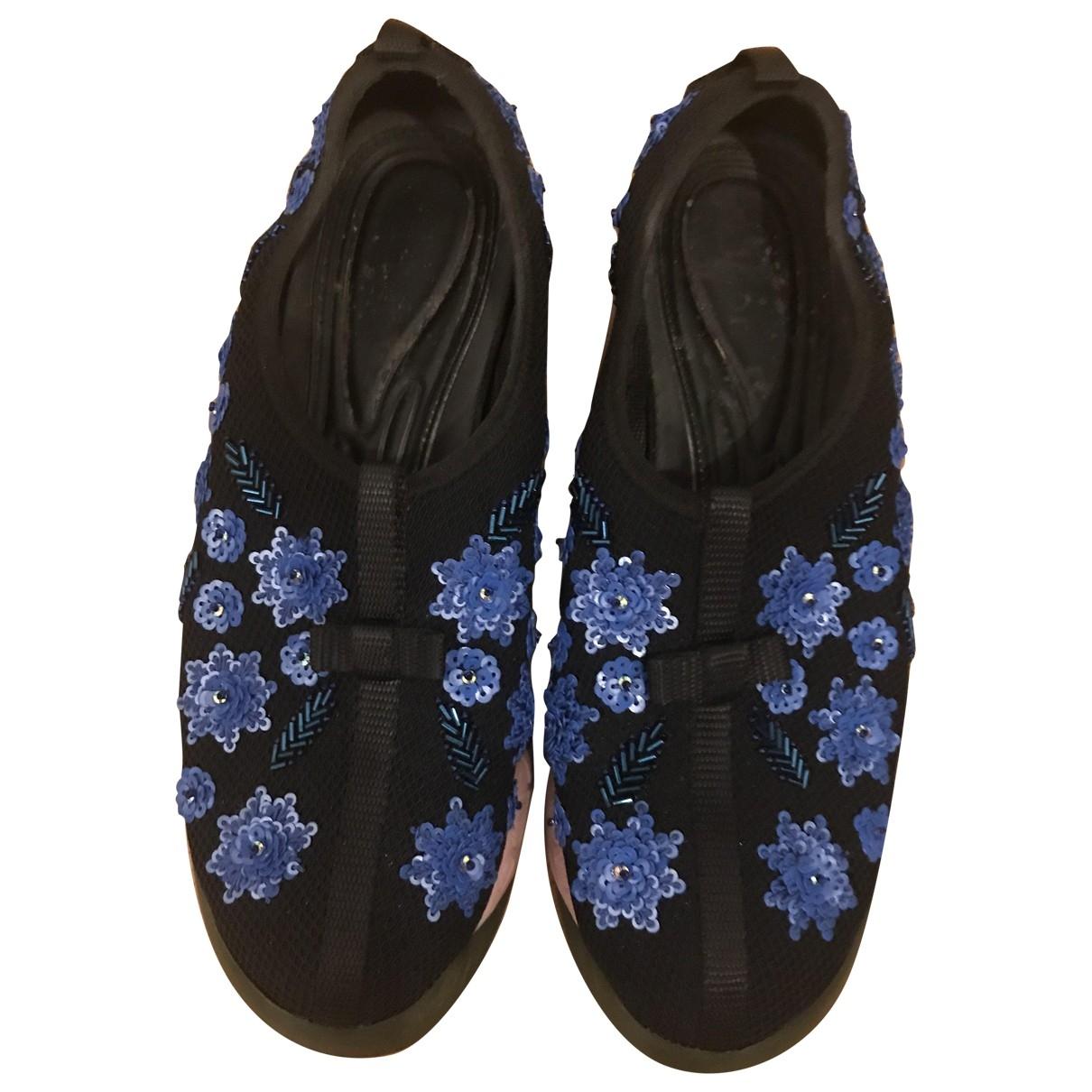 Dior - Baskets Dior Fusion pour femme en toile - bleu