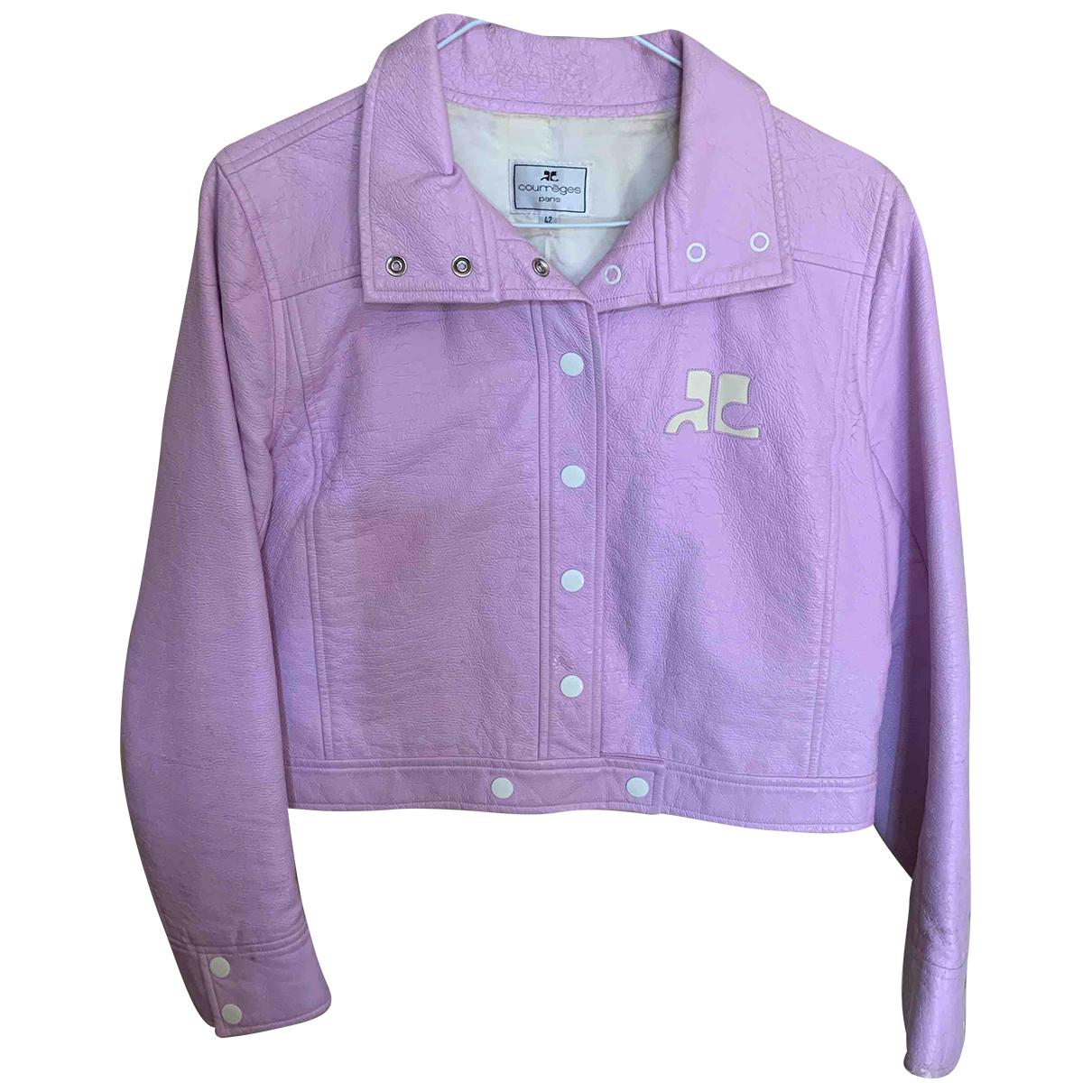 Courrèges \N Purple jacket for Women 42 FR