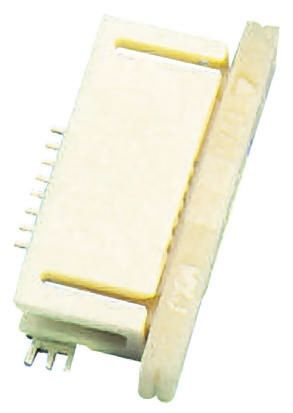 Molex Easy-On 52746 Series 0.5mm Pitch 15 Way Right Angle SMT Female FPC Connector, ZIF Bottom Contact (10)