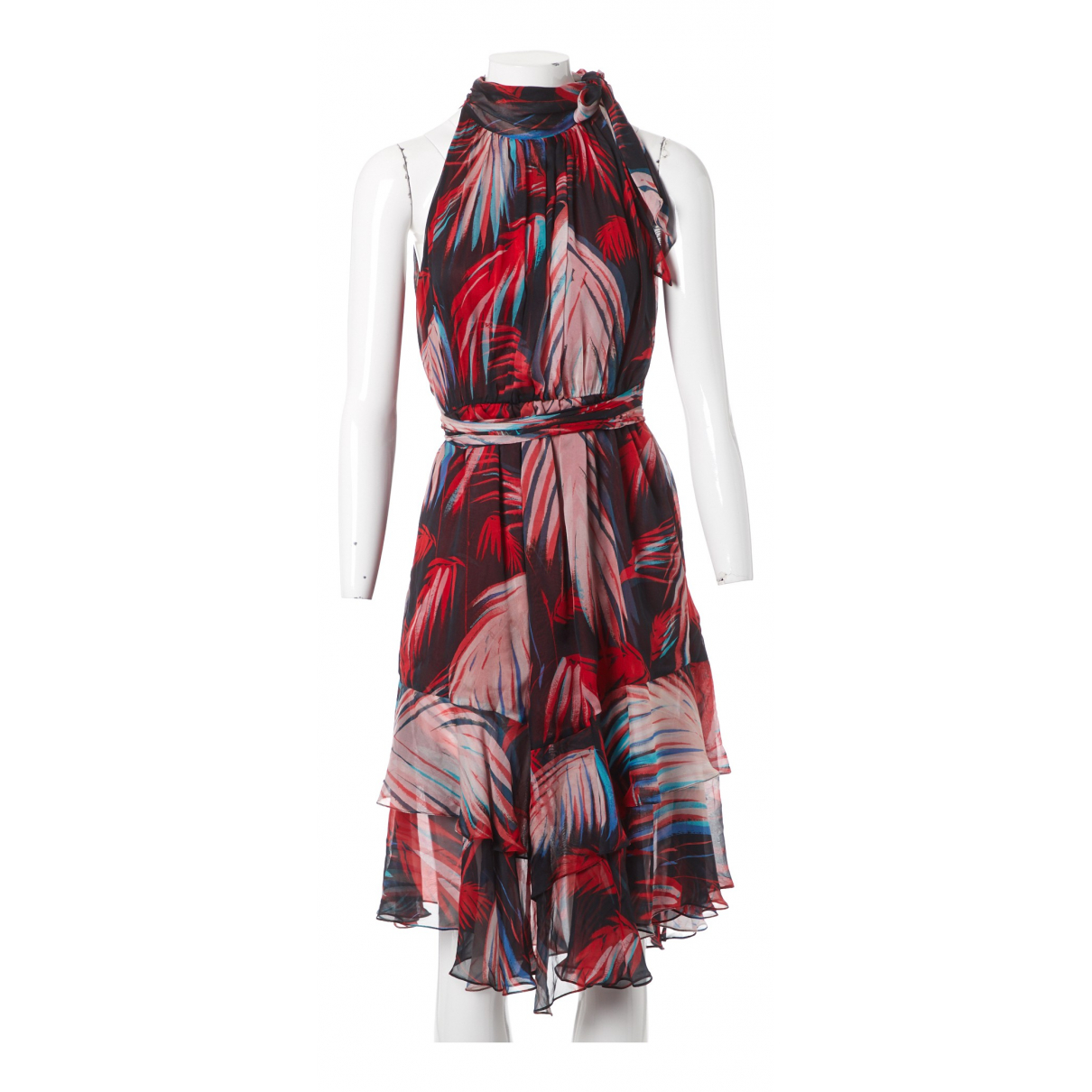 Matthew Williamson \N Red Silk dress for Women 8 UK