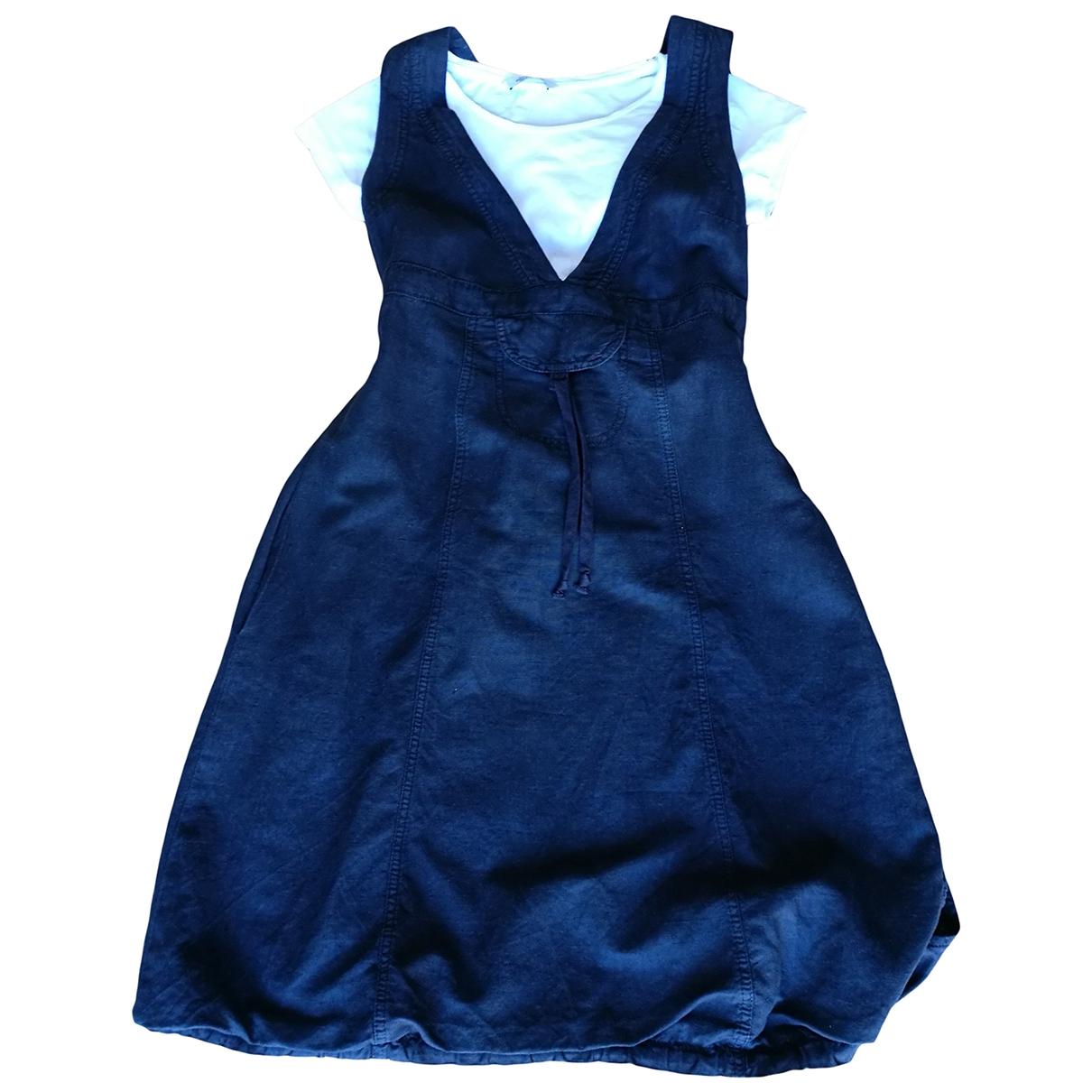 Max & Co \N Kleid in  Schwarz Leinen