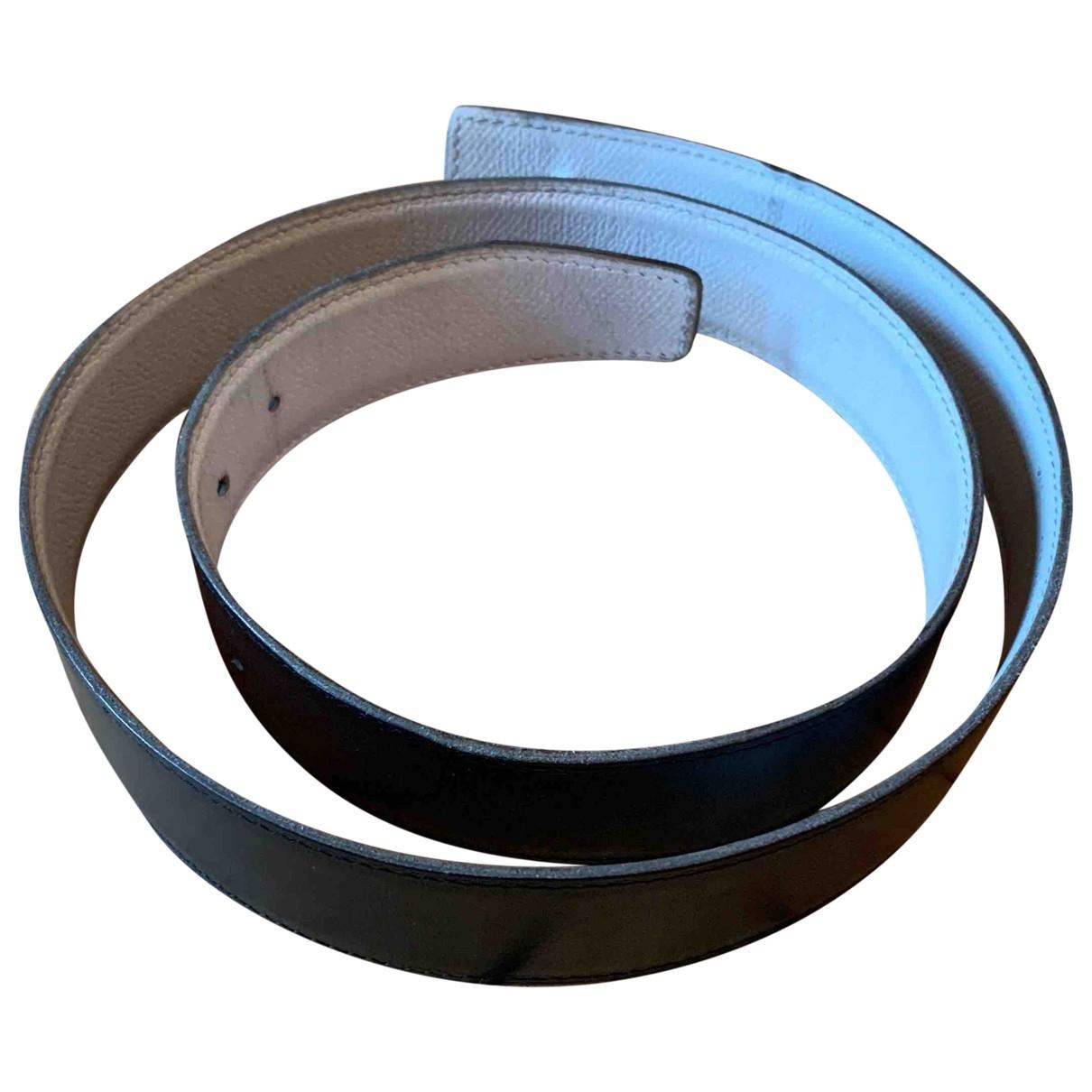 Cinturon Cuir seul / Leather Strap de Cuero Hermes