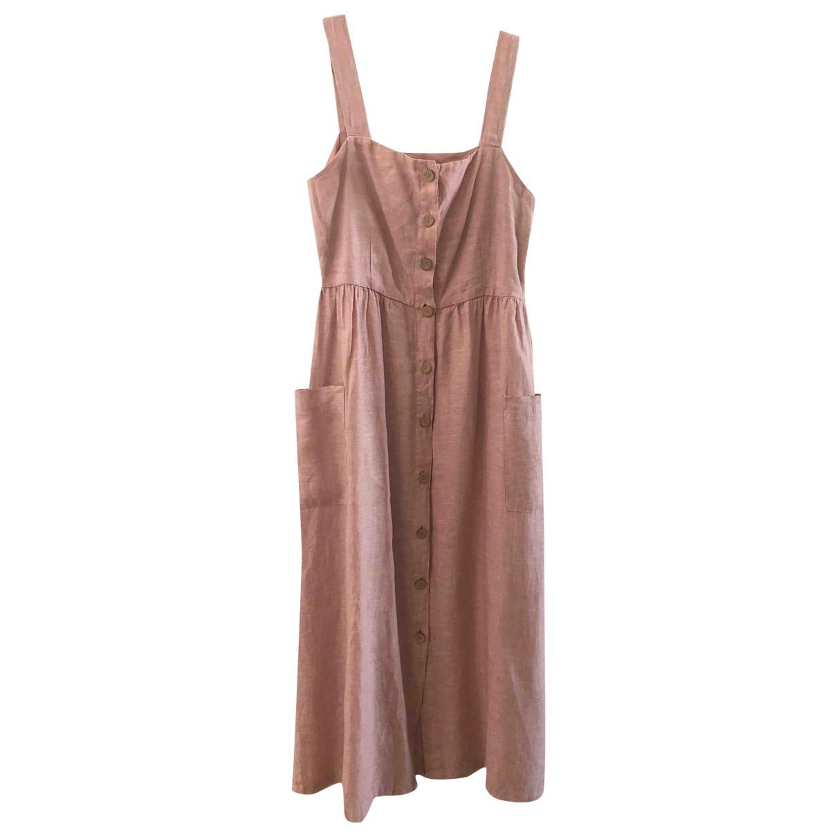 Rachel Zoe \N Pink Linen dress for Women 42 FR