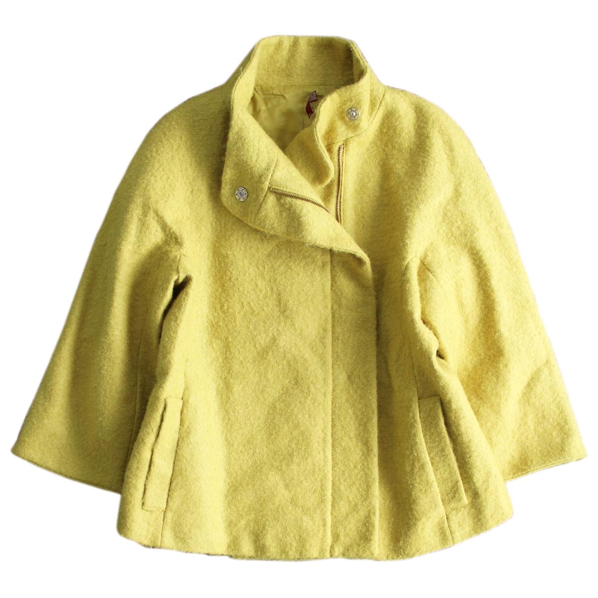 Max & Co - Manteau   pour femme en laine - jaune