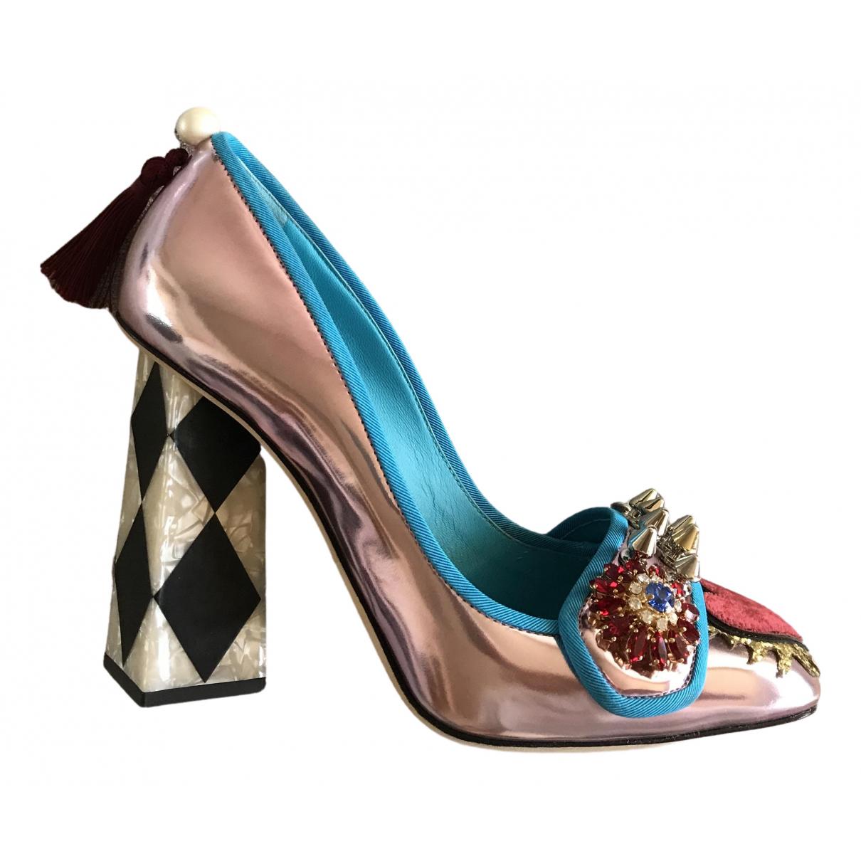 Tacones de Charol Dolce & Gabbana