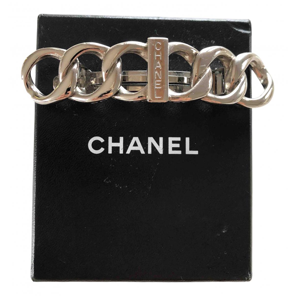Chanel CHANEL Haarschmuck in  Silber Metall
