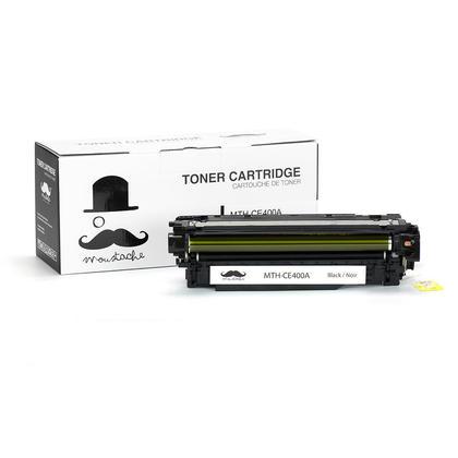 Compatible HP 507A CE400A cartouche de toner noire - Moustache@ - 1/paquet