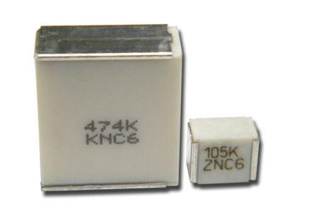 KEMET 100nF Polyphenylene Sulphide Film Capacitor PPS 30 V ac, 50 V dc ±5%, SMC, SMD (2100)