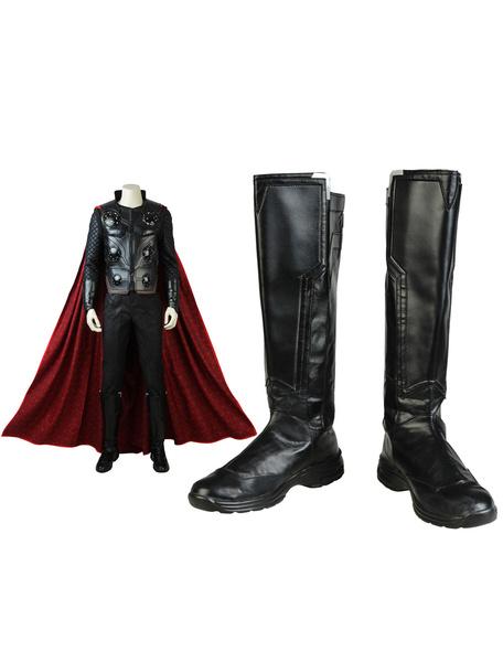 Milanoo Avengers 3 Infinity War Thor Halloween Cosplay Shoes