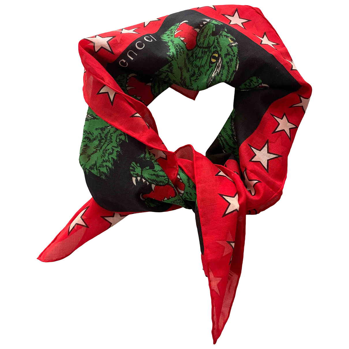 Gucci N Multicolour Cotton scarf & pocket squares for Men N