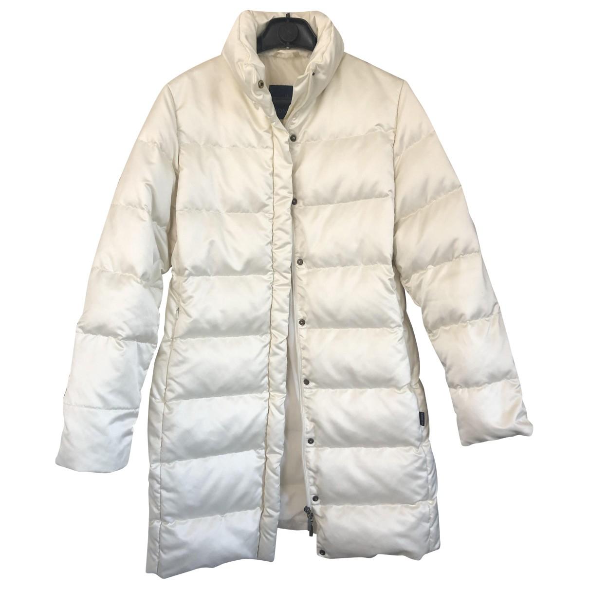 Moncler - Manteau Long pour femme - blanc