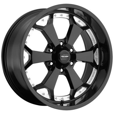 Pro Comp Series 8180, 20x9 Wheel with 6 on 135 Bolt Pattern - Gloss Black Machined - 8180-2936